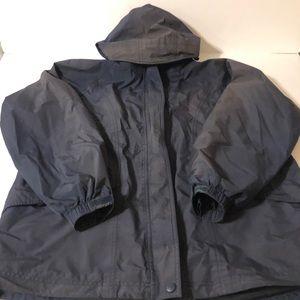 LL Bean Womens Gore Tex Rain Jacket Size Large